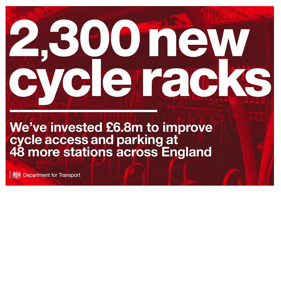 New cycle racks